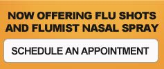 Metropolitan Pediatrics offers Flu shot and Flumist Nasal Spray