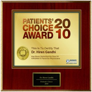 Patients' Choice Awards 2010